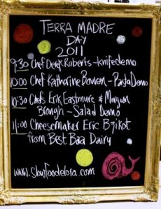 Terra Madre Day 2011