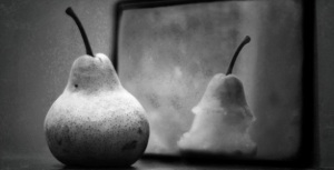 Pear in the Mirror